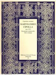 Il giurista veronese Bartolomeo Cipolla, sec. 15.